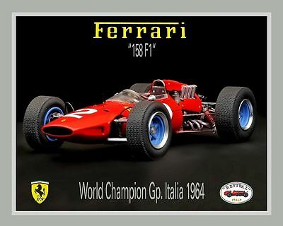 NEW REVIVAL INTERNATIONAL KIT FERRARI 158 G.P. MONZA - year 1964 - scale 1:20