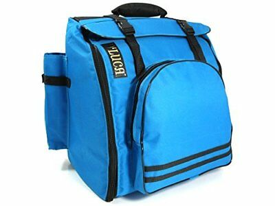D'Luca DAG-96/120 Pro Accordion Gig Bag for 96/120 Bass Piano Accordions, Blue