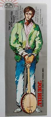 MCH29037 Joe Hill 1971 Japan Chirashi Mini Movie Poster Flyer