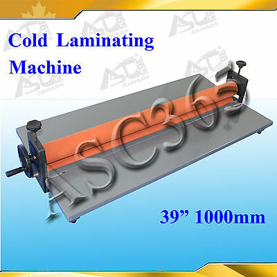 "39"" Cold Laminator Laminating Machine Brand New For Photo Printing Protector"