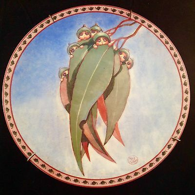 VINTAGE 1994 Collectable MAY GIBBS GUMNUT BABIES PLATE Bush Babies NUMBERED