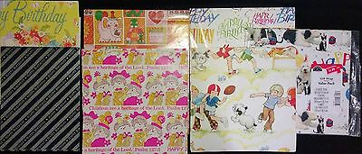 Vintage Birthday And Misc. Sheet Paper-Huge Lot