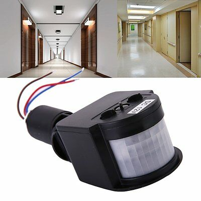 Outdoor 12M PIR12V/PIR85-265V Security PIR Infrared Motion Sensor Detector KW