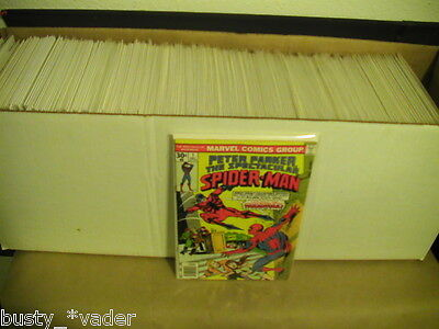 Peter parker The Spectacular Spider-Man 1976 #1- 193- 263 Complete Lot of 227