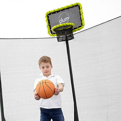 Plum Trampoline Basketball Ring and Ball - NEW