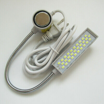 30 Led Light Lamp Magnetic Magnet GooseNeck Singer Featherweight Janome Kenmore