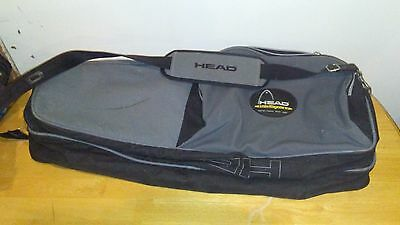 Head Tennis Racquet Bag Intelligence Orange Multi Pocket Racket Case