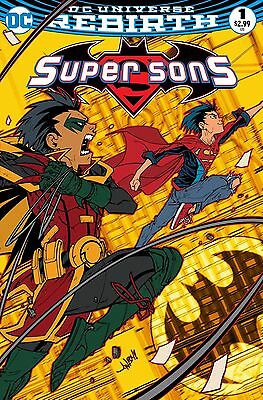 Super Sons #1 Jonboy Meyers Fried Pie Variant