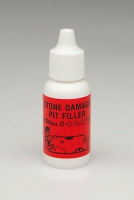 Pit Filler Windshield Repair Resin Additive. Easily fill large windshield chips
