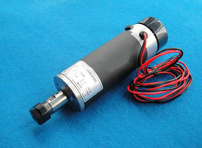 57mm Air-cooled DC Spindle motor ER16-110V-600W for Engraving machine