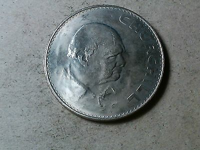 Great Britain crown 1965 Huge coin