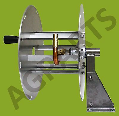 Agparts Stainless Steel And Marine Aluminium Fire Hose Reel - Viton- Chemical