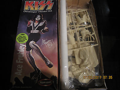 Kiss Ace Frehley Destroyer Model Kit   New