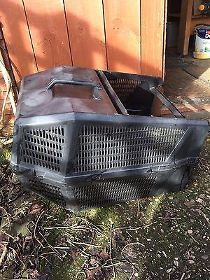 REDUCED!!! Petrol lawn mower grass collection box, Champion, Mountfield type