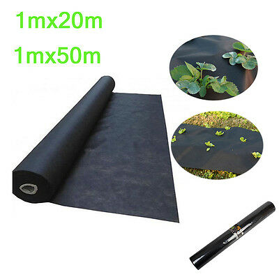 Weed Control 1 X 20m 50m  Fabric Membrane Ground Sheet Cover Garden Driveway UK