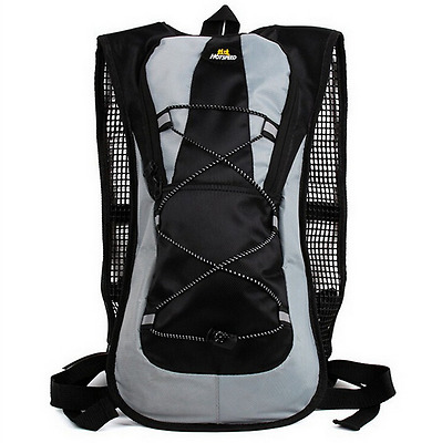 5L Nylon Solid Zipper Motorcycle Backpack Gear Outdoor Camping Trekking Cycling