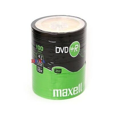 100 Maxell DVD+R Vierges