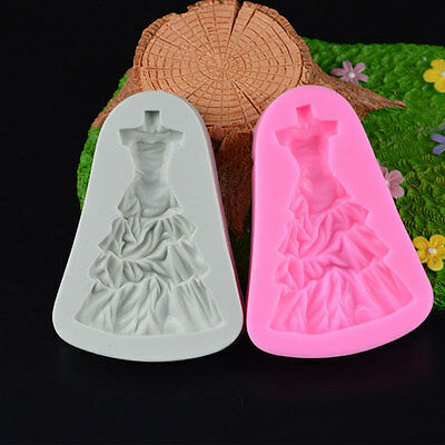Princess Skirt Cake Chocolate Cookies Decorating Baking Christmas Kitchen Mould