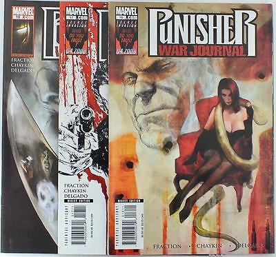 The Punisher - War Journal - Issue # 16,17,18 - Marvel Comics - NM/VF (2791)