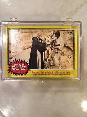 1977 Topps Star Wars Complete 66-Card Yellow 3rd Series Set #133-198