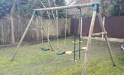 Plum Products Garden Swing Seesaw Wooded