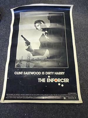 THE ENFORCER, CLINT EASTWOOD, Movie Poster 1976