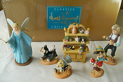 """WDCC """"Ornament Set"""" from Disney's Pinocchio, Limited Edition #1010 of 4000 --New"""