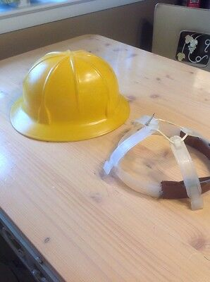 Davis Vintage Hard Hat Safety Helmet Work Construction Logger Lumberjack