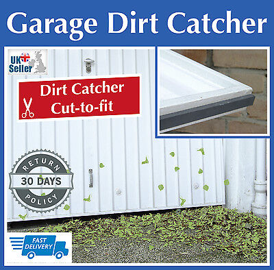 Wenko Garage Door Dirt Trap Catcher Adhesive Strip Draught Excluder Stops Litter