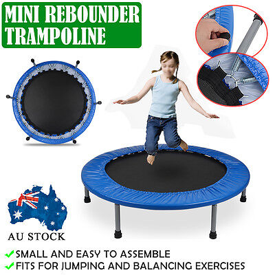 """40"""" Mini Trampoline Rebounder Home Kids Adult Gym Workout Fitness Outdoor"""