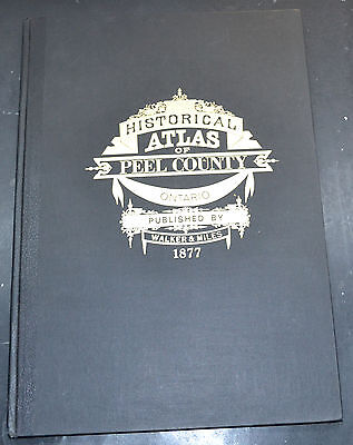 Reprint of 1877 ATLAS OF PEEL COUNTY ONTARIO CANADA Maps
