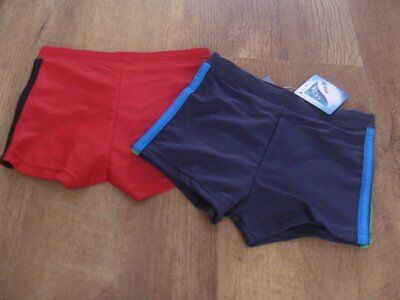 Ex- chainstore 3-6 months boys 2 pairs of swimming trunks BNWT
