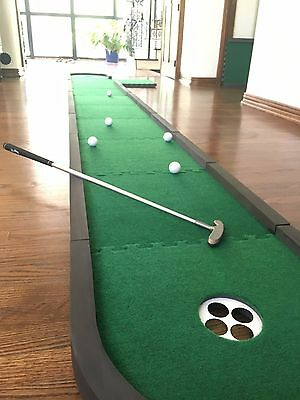 !NEW! 15.5' Puzzle Putting Green Mat  Super Light only 10.7 lbs