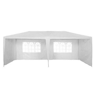 Waterproof Outdoor PE Garden Gazebo Marquee Canopy Party Tent 3 x 6m 120g Panana