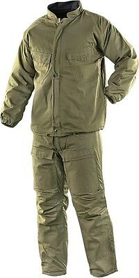 Olive Drab Government Issue CBRN BDU Chemical Suit Large NSN 8415-00-407-1062
