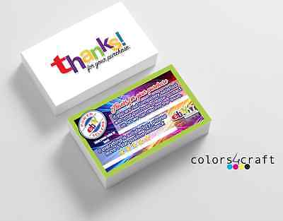 Feedback Request Cards eBay P.ower Seller 250 Business Cards Fast ship
