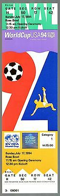 1994 WORLD CUP FINAL - BRAZIL v ITALY - UNUSED TICKET