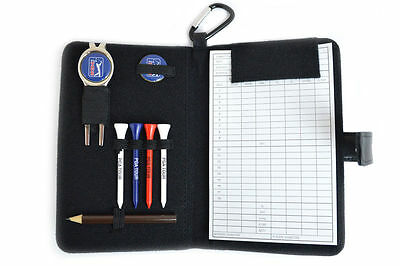 PGA Tour Real Leather Accessories and Scorecard Holder