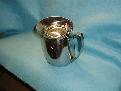 Pitcher and Server - Stainless Steel 18-8 10oz Insulated  - Edward Don - Japan