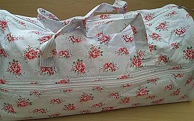 BNWT- Hobby Gift-Knitting/Crochet/Project-Hold All Style Bag-Dainty Rose