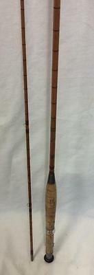 J B S Notley Vintage 8Ft Cane Fly Rod Trout *used*