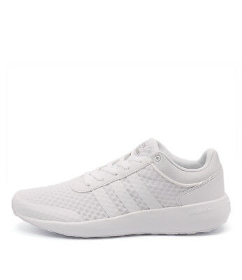 New Adidas Neo Cloudfoam Race Men's White White Oni Mens Shoes Casual