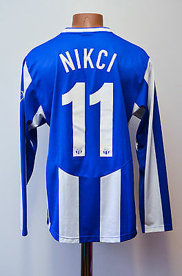 Zurich Switzerland 2007/2008/2009 Home Football Shirt Jersey Nike Nikci #11