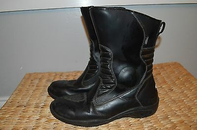 TourMaster  Waterproof Motorcycle Biker Road Riding Boots Mens Size 10