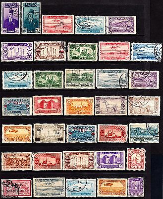Syria Stamps. 1921-49 Issues. Used & MH. #2729