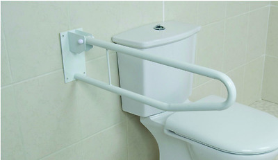 Safety Support Rail Bathroom Disabled Toilet NRS Healthcare Mobility Aid Folding