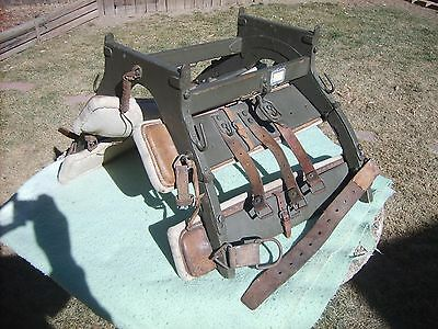 Antique Original 1906 Model WWI WWII Military Army Pack Saddle Excellent