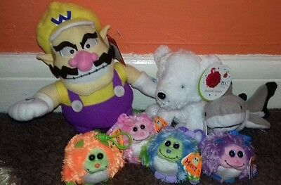 Bundle of TY Beanies and other plush toys