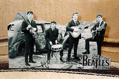 """The Beatles British Rock Group Tabletop Standee 11"""" Long"""