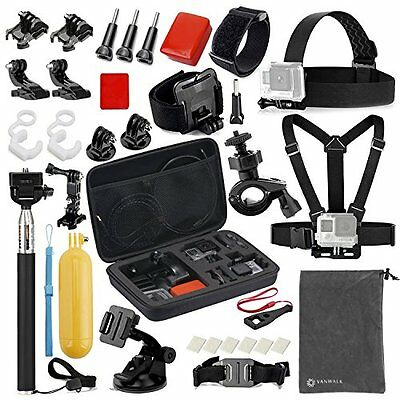 15-in-1 camera Sport Accessories Bundles Kit GoPro Hero 5/4/3/2/1 Session Hero